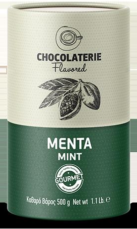 Chocolaterie σοκολάτα ρόφημα γεύση μέντα