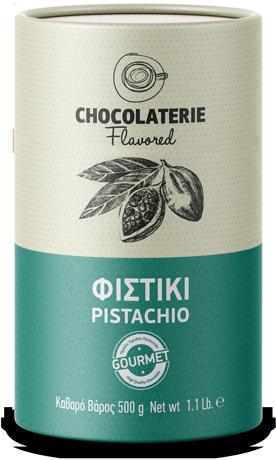 Chocolaterie Σοκολάτα ρόφημα γεύση φιστίκι