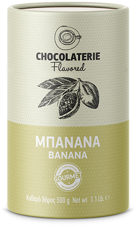 Chocolaterie σοκολάτα ρόφημα γεύση μπανάνα